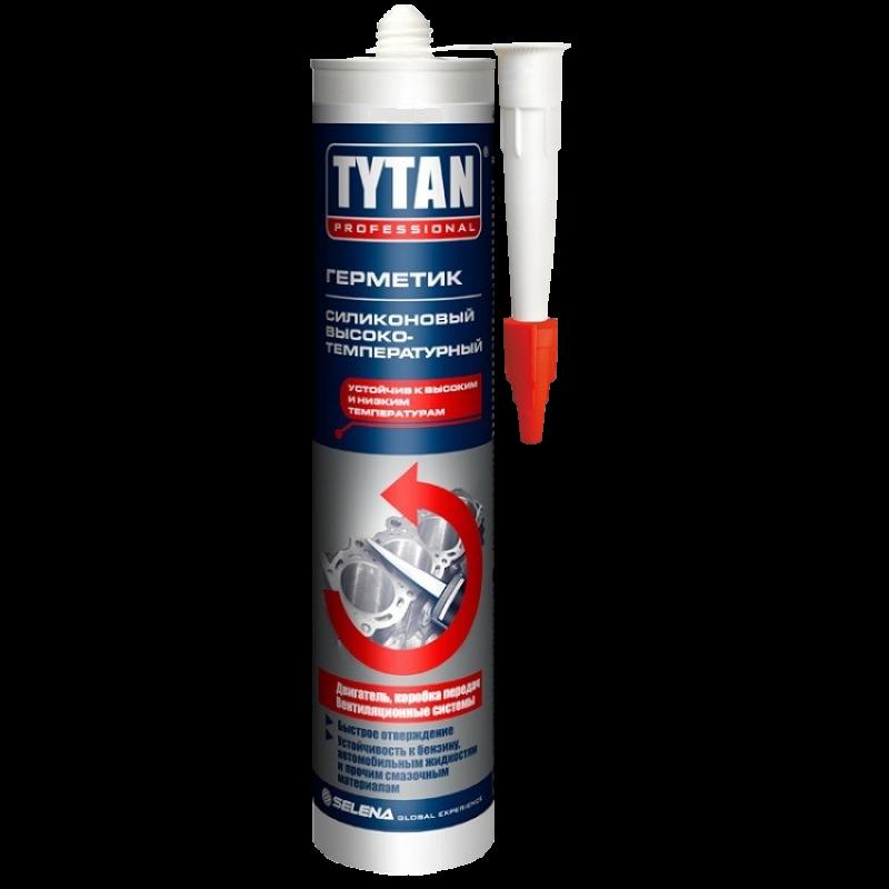 TYTAN герметик высокотемпературный, (310 мл), красный (КНР)