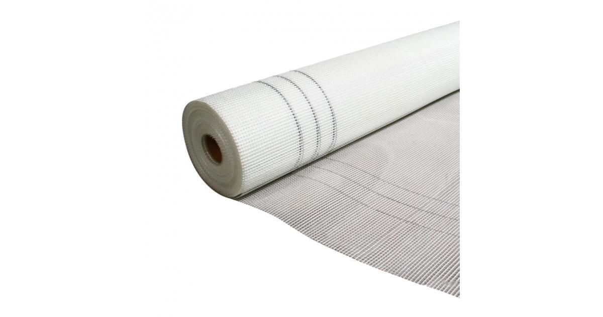 HAUSER Сетка стеклотканевая интерьерная, щелочестойкая, (1м х 50м), 60г (2,5мм*2,5мм)