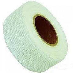HAUSER лента для гипсокартонных плит белая 48мм х 45м