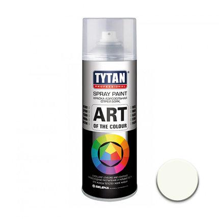 TYTAN Краска аэрозольная, белая глянцевая, 400 мл, фото 2