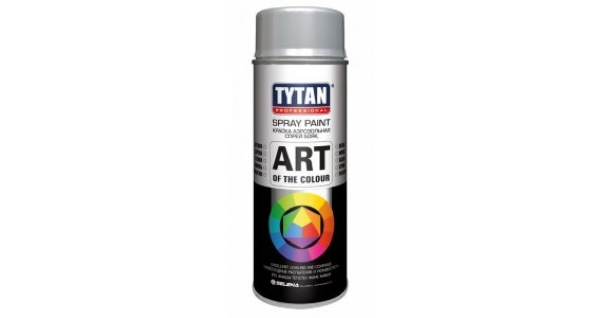 TYTAN Краска аэрозольная, белая матовая, 400 мл