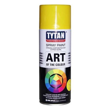 TYTAN Краска аэрозольная, желтая, 400 мл, фото 2