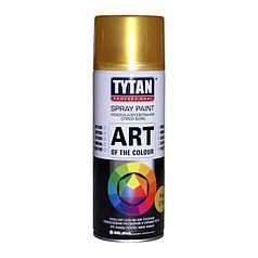 TYTAN Краска аэрозольная, золотая матовая, 400 мл