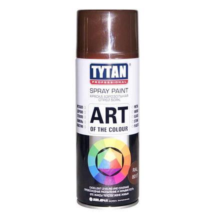 TYTAN Краска аэрозольная, коричневая, 400 мл, фото 2
