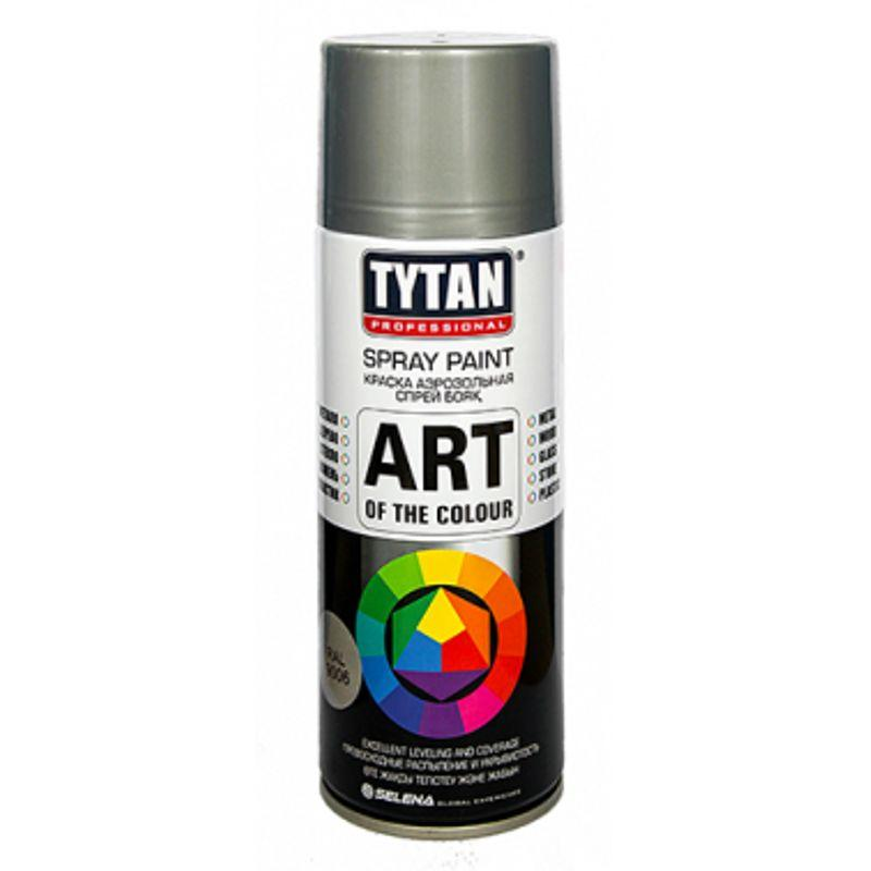 TYTAN Краска аэрозольная, металлик, 400 мл