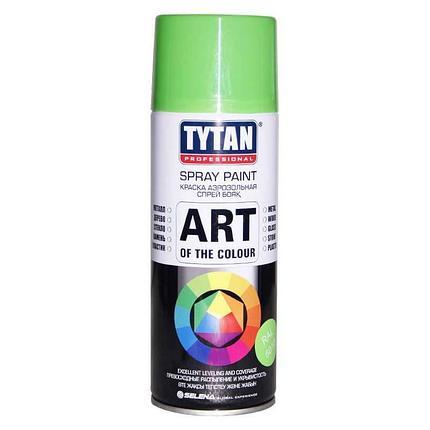 TYTAN Краска аэрозольная, светло-зеленая, 400 мл, фото 2