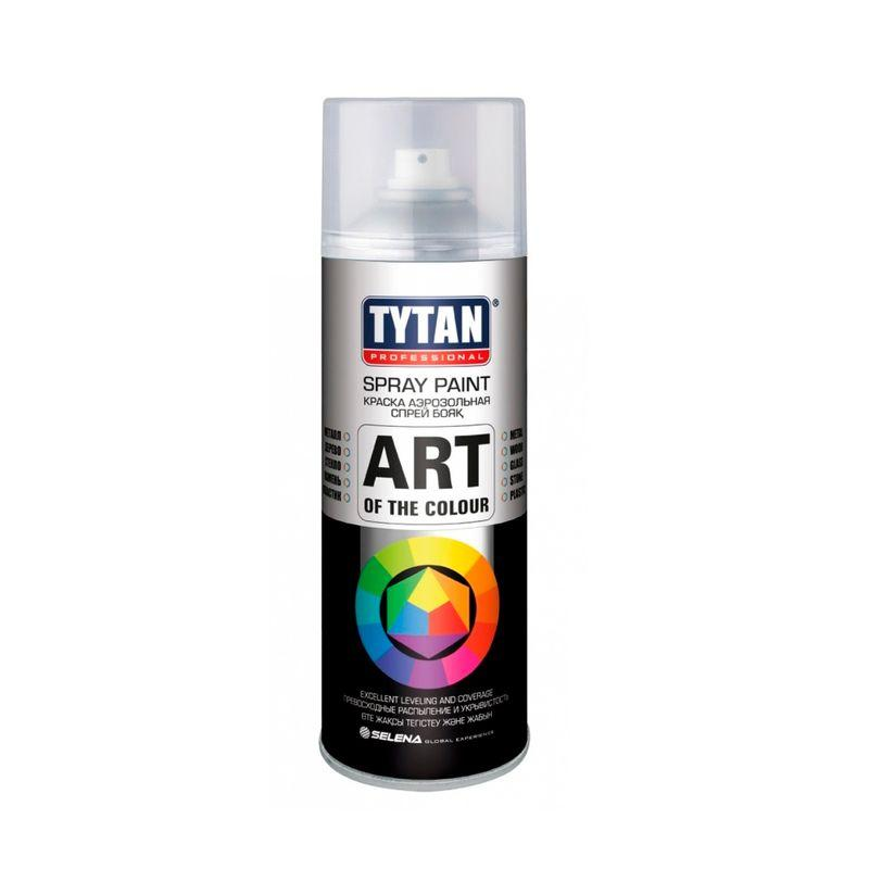 TYTAN Краска аэрозольная, серая, 400 мл