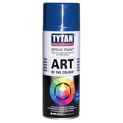 TYTAN Краска аэрозольная, синяя, 400 мл, фото 2