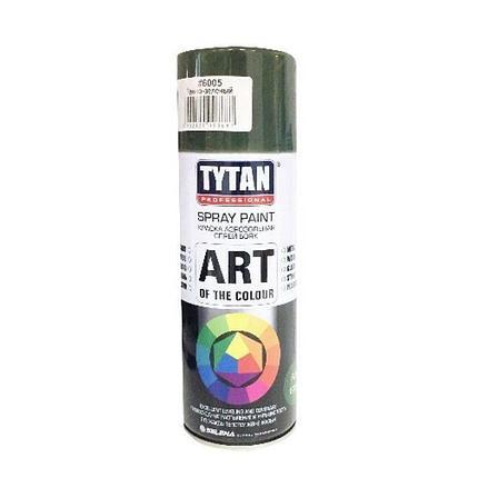TYTAN Краска аэрозольная, темно-зеленая, 400 мл, фото 2