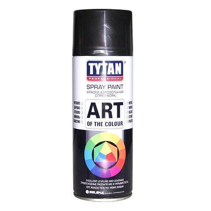 TYTAN Краска аэрозольная, черная глянцевая, 400 мл, фото 2