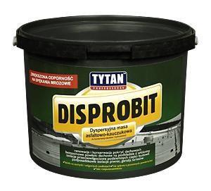 TYTAN DISPROBIT мастика дисперсионная битумно-каучуковая для ремонта крыш и гидроизоляции 20 кг