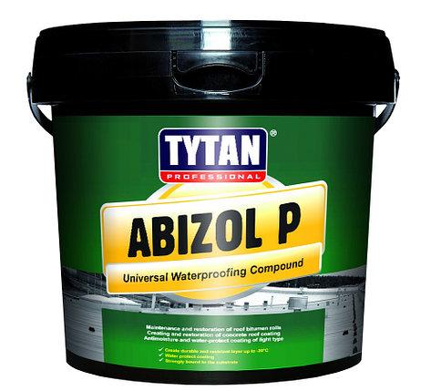 TYTAN ABIZOL P мастика битумная для бесшовной гидроизоляции (18кг), фото 2