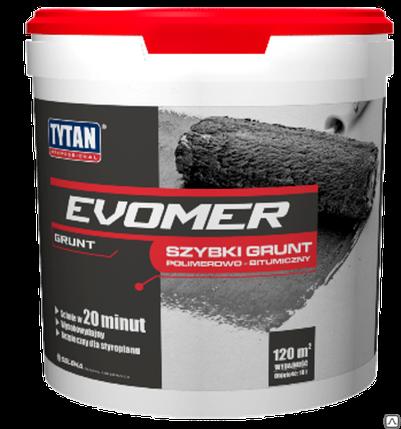 TYTAN праймер быстрая битумно-полимерная EVOMER,18 кг, фото 2