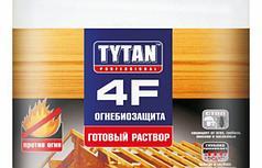 TYTAN 4F Огнебиозащита (готовый раствор), красный 10 л.