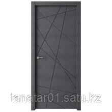 Дверь GEO-1 цвет Бетон графит