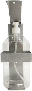 Держатель локтевой для антисептика, настенный, металлический, 1000 мл