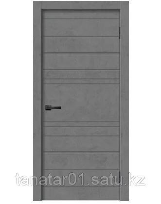 Дверь GEO-2 цвет Бетон графит