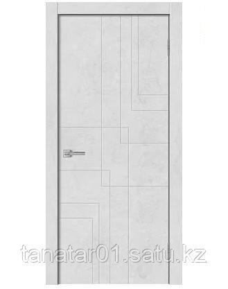 Дверь GEO-3 цвет Бетон снежный