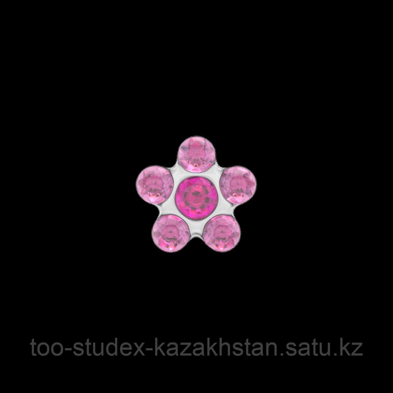 Гипоаллергенные серьги-цветочки для ношения - фото 2