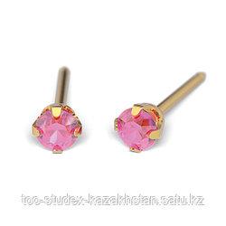 7511-0110 Серьги-иглы System75™ с цветными кристаллами