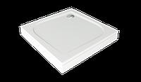 Поддон литьевой мрамор BAS Квадро 902х902 без панели