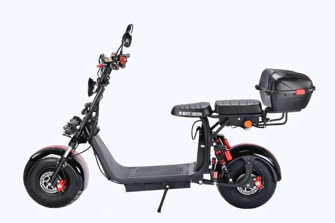 Электроскутер полноприводный CITYCOCO WS PRO 2WD 4000W - фото 2