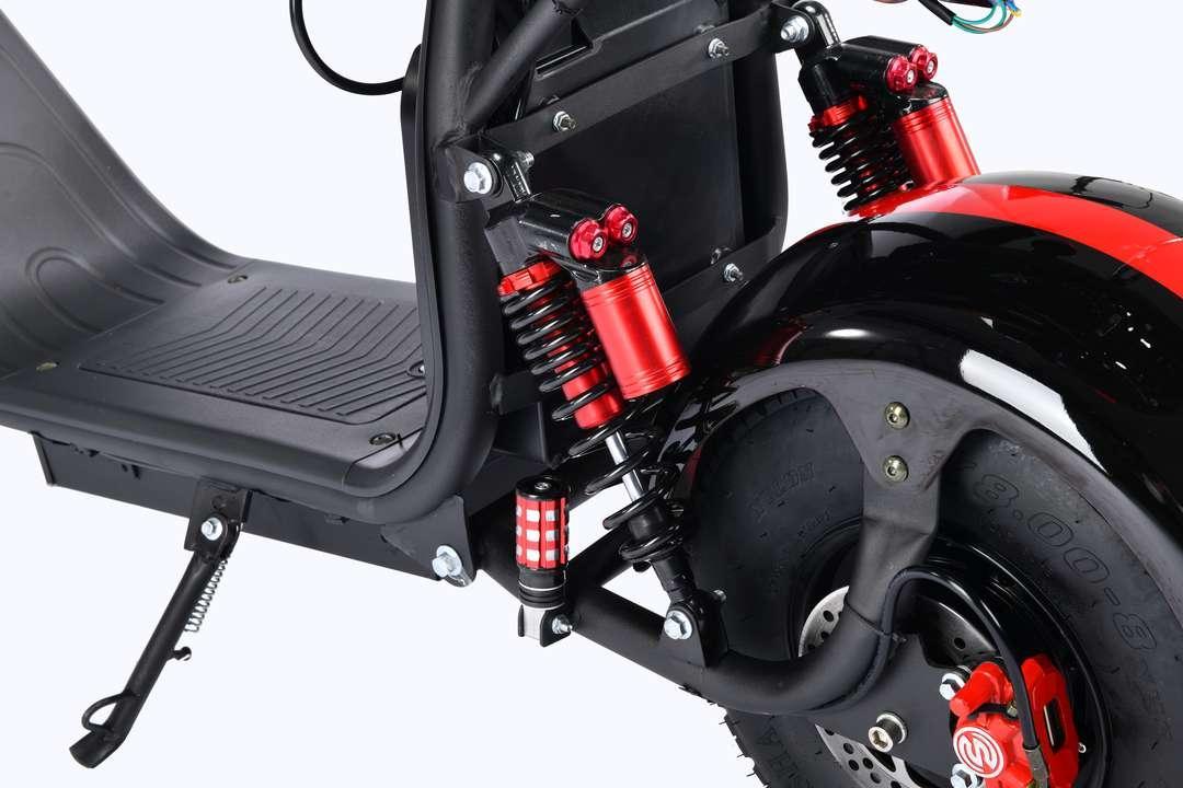 Электроскутер полноприводный CITYCOCO WS PRO 2WD 4000W - фото 4