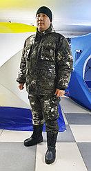 """Зимний утепленный камуфляжный костюм """"Снежный"""""""