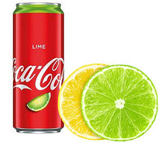 Coca Cola Lime 330ml (24шт-упак)