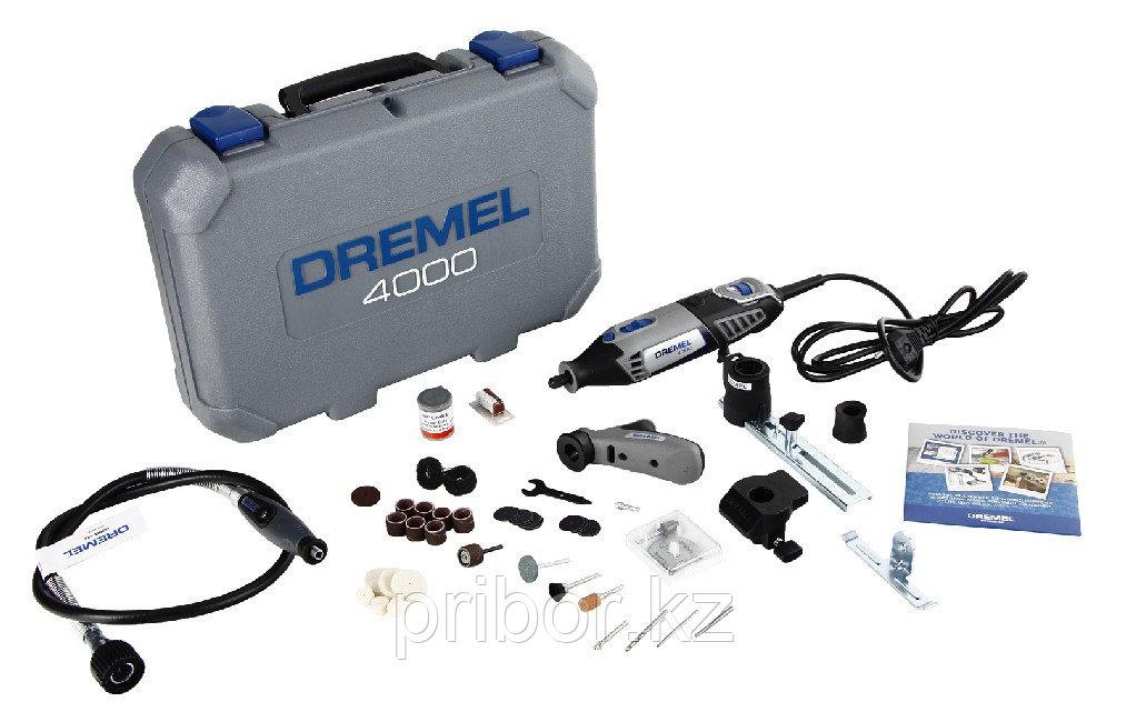 Многофункциональный инструмент DREMEL 4000 (4/65) в комплекте с насадками