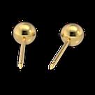 """7511-0300 Серьги-иглы System75™ """"Шарики"""", фото 5"""