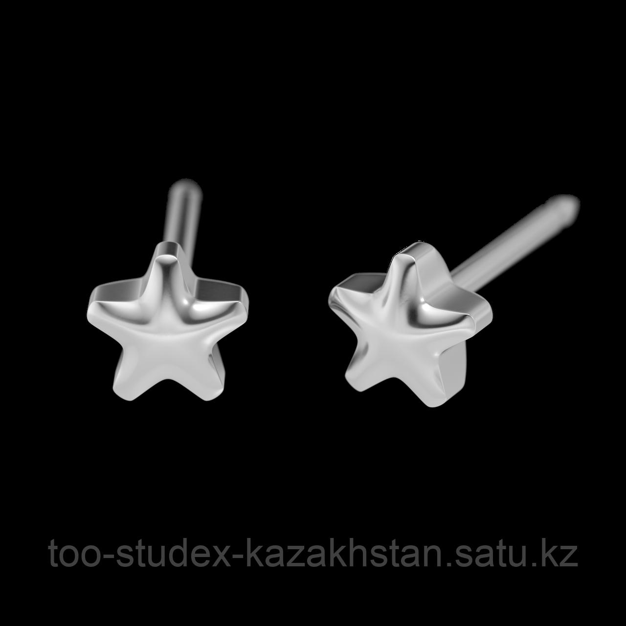 """7512-0501 Серьги-иглы System75™ """"Звездочки"""""""