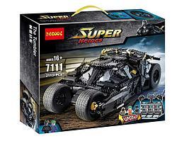 Decool 7111 Конструктор Бэтмобиль Тумблер, 2113 дет. (Аналог LEGO)