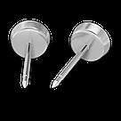 7512-0622 Серьги-иглы Мотивы System75™, фото 5