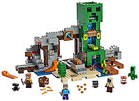 Конструктор Minecraft 852 детали Шахта Крипера