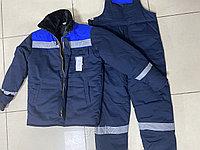 """Зимняя спецодежда """"БУРАН"""", утепленная рабочая одежда, фото 1"""