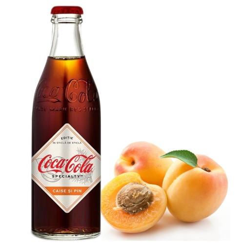 Coca-Cola Specialty Apricot Pine Абрикос стеклянная бутылка (12шт-упак)