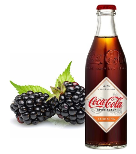 Coca-Cola Specialty Blackberries & Juniper Ягода стеклянная бутылка 250ml (12шт-упак)