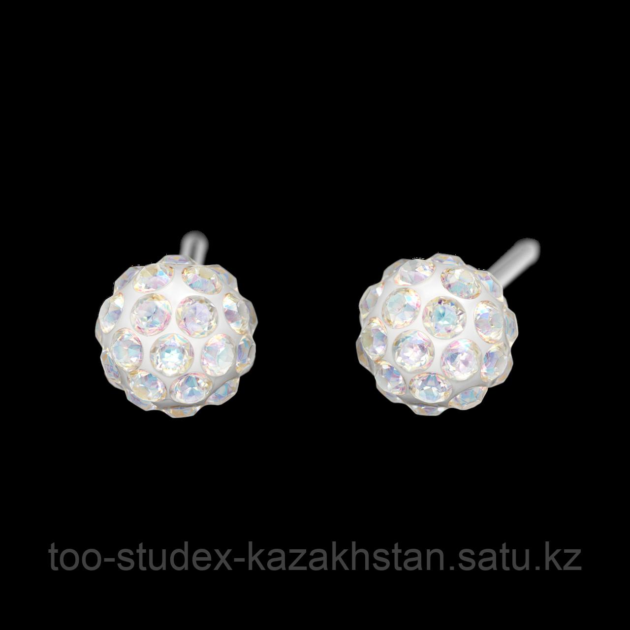 """7522-0315 Серьги-иглы System75™ """"Fireball"""" с кристаллами"""