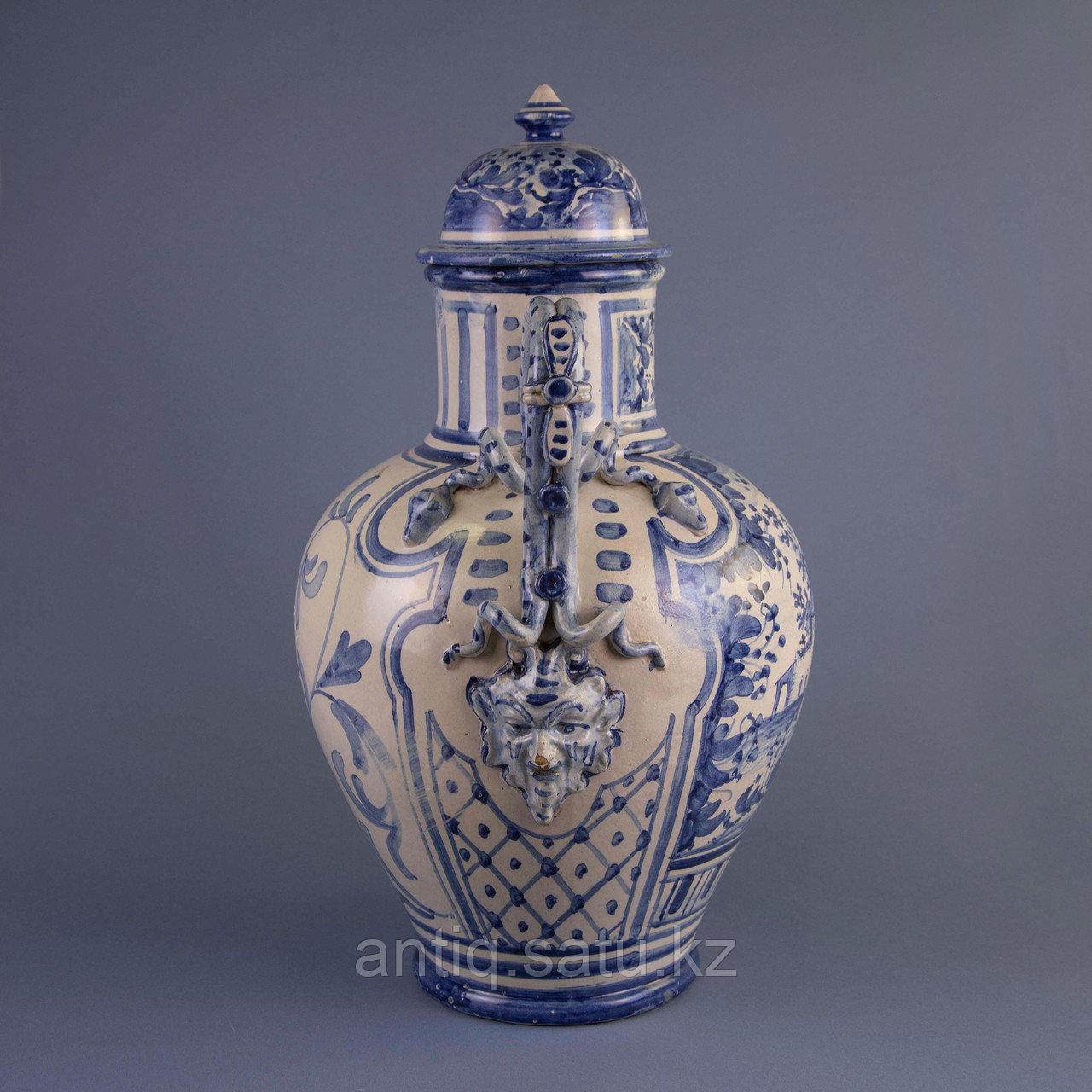 Парадная ваза. Королевская мануфактура в Дельфте - фото 3