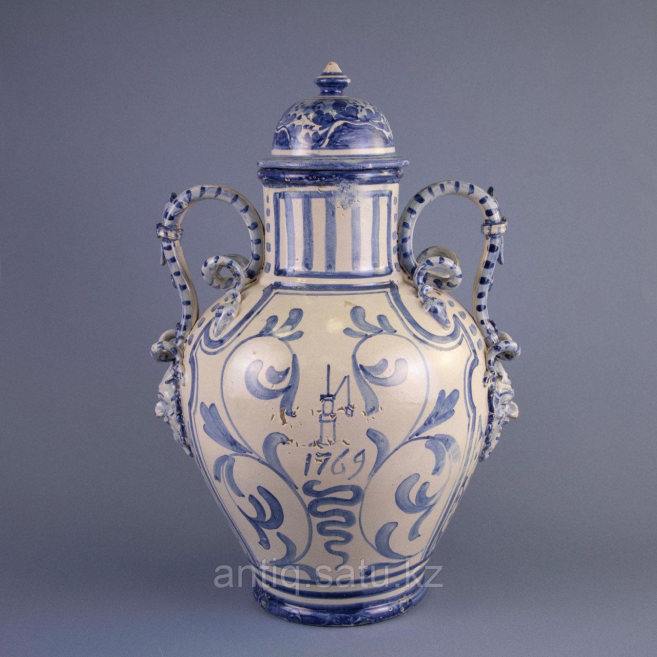 Парадная ваза. Королевская мануфактура в Дельфте - фото 4