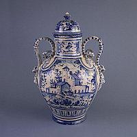 Парадная ваза. Королевская мануфактура в Дельфте