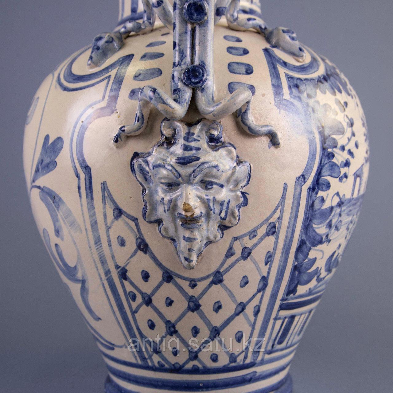 Парадная ваза. Королевская мануфактура в Дельфте - фото 5
