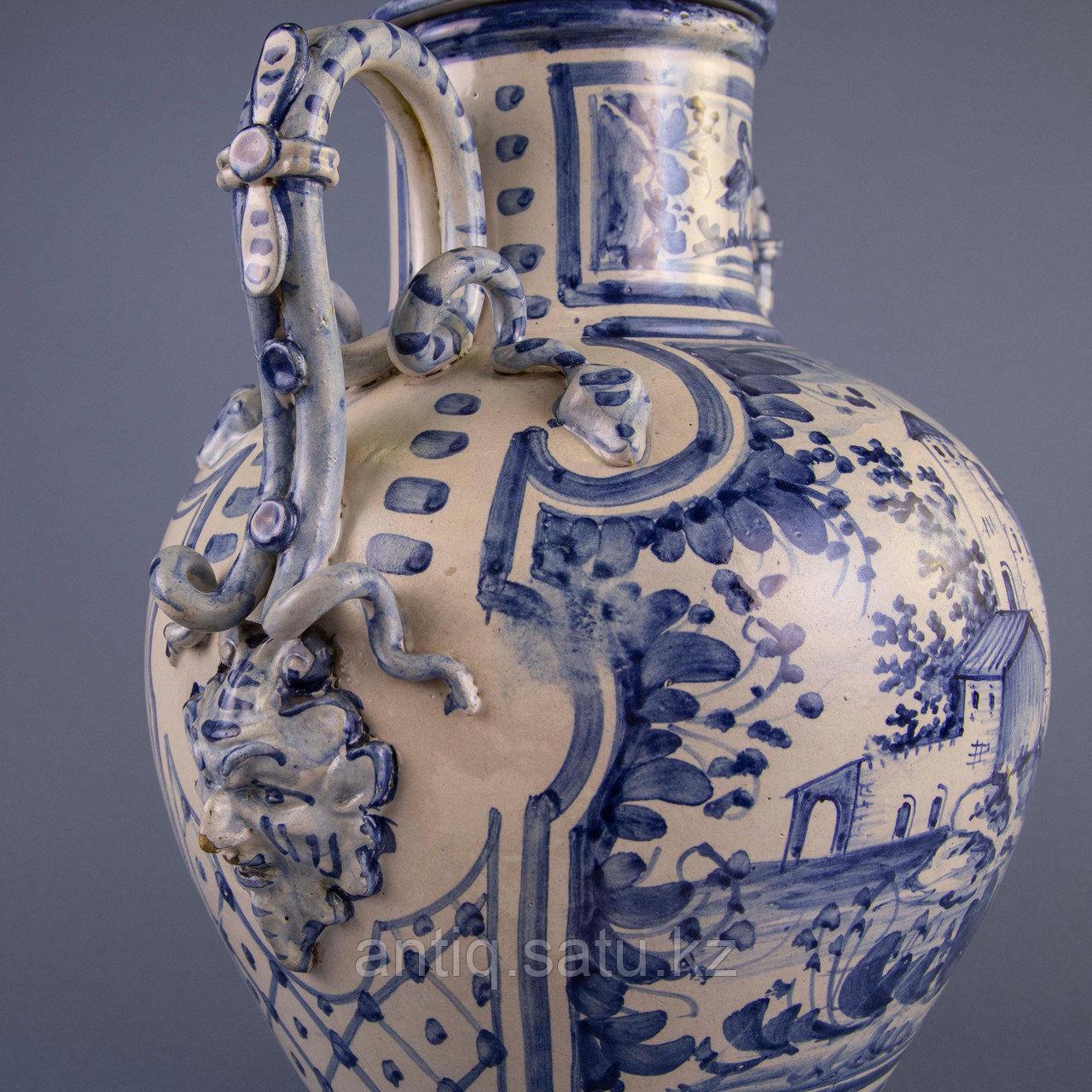 Парадная ваза. Королевская мануфактура в Дельфте - фото 7
