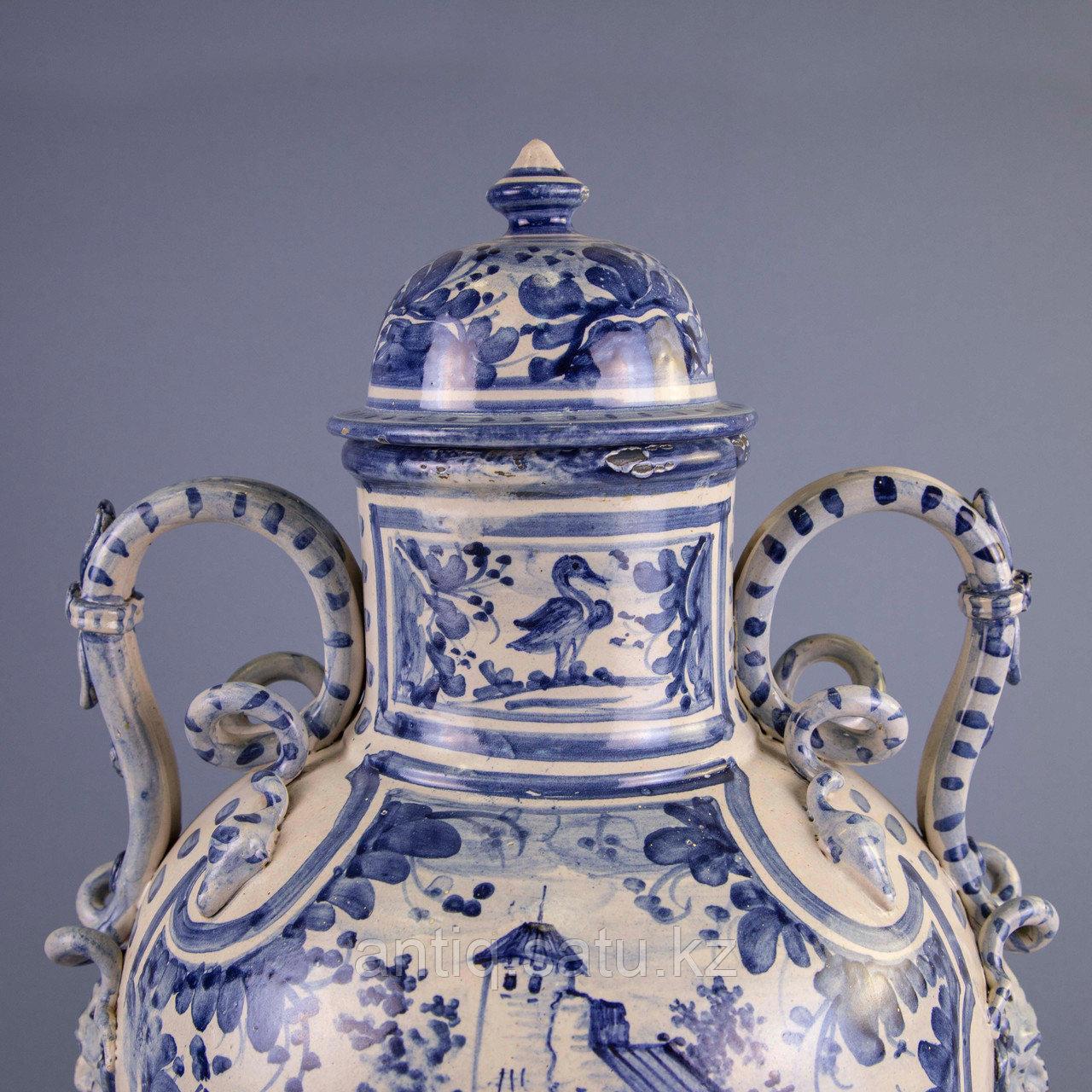 Парадная ваза. Королевская мануфактура в Дельфте - фото 6