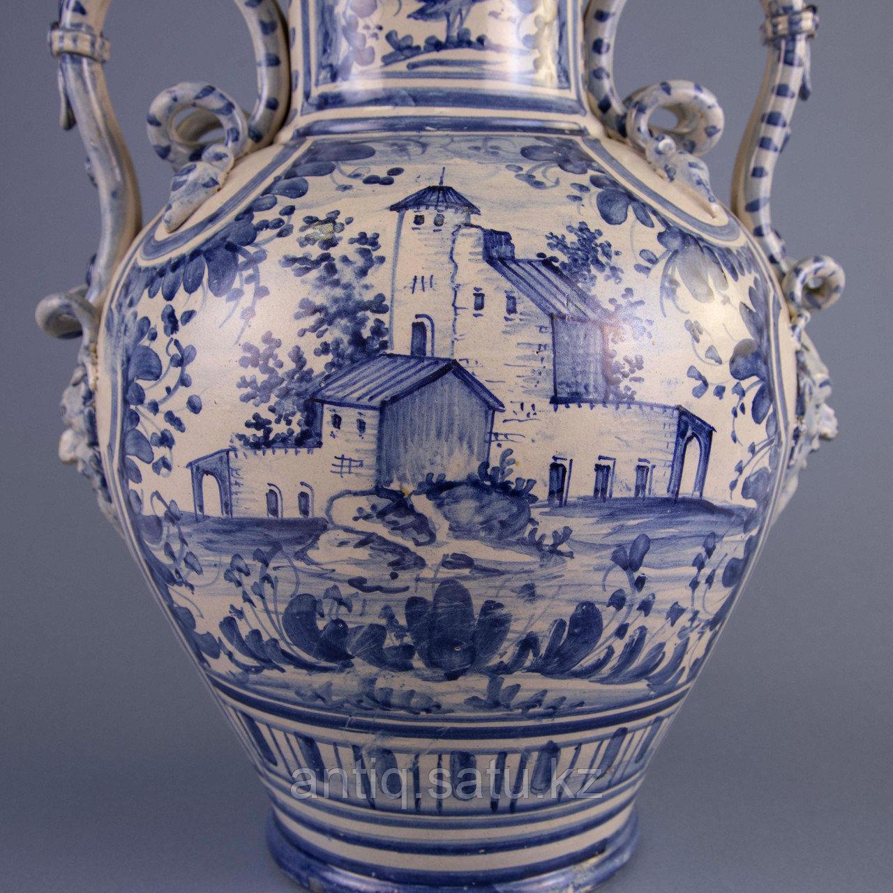 Парадная ваза. Королевская мануфактура в Дельфте - фото 8
