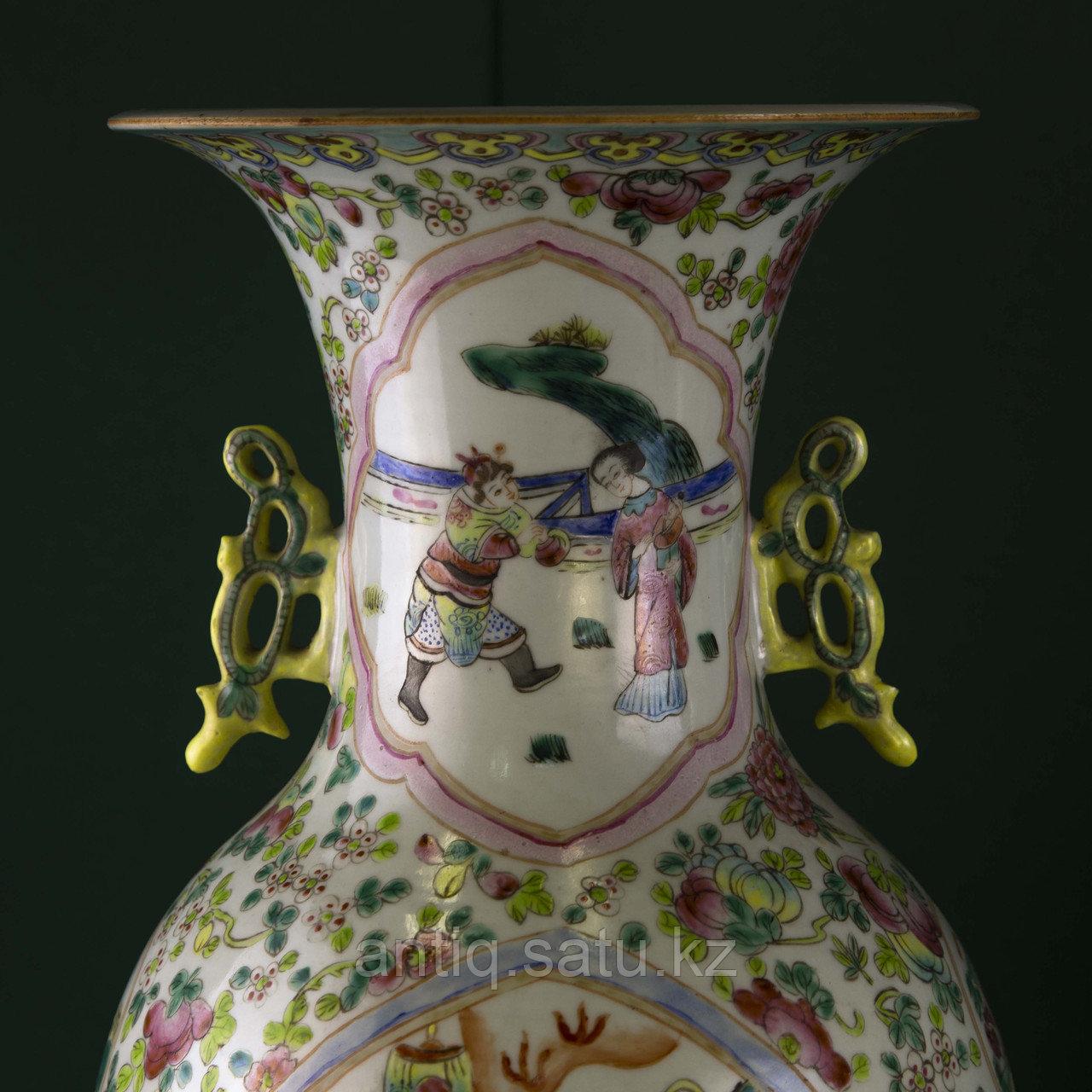 Парадные вазы. Китай. Начало ХХ века - фото 3