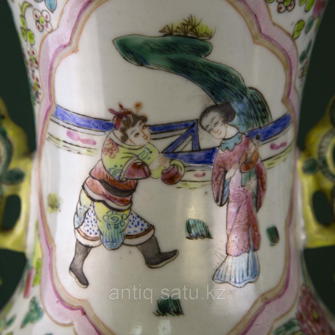 Парадные вазы. Китай. Начало ХХ века - фото 4