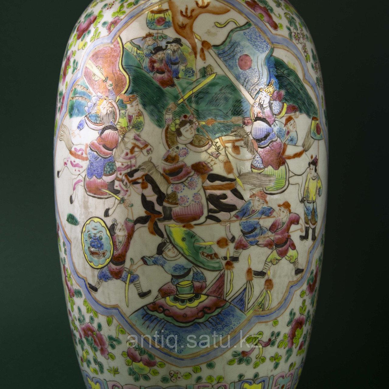 Парадные вазы. Китай. Начало ХХ века - фото 5