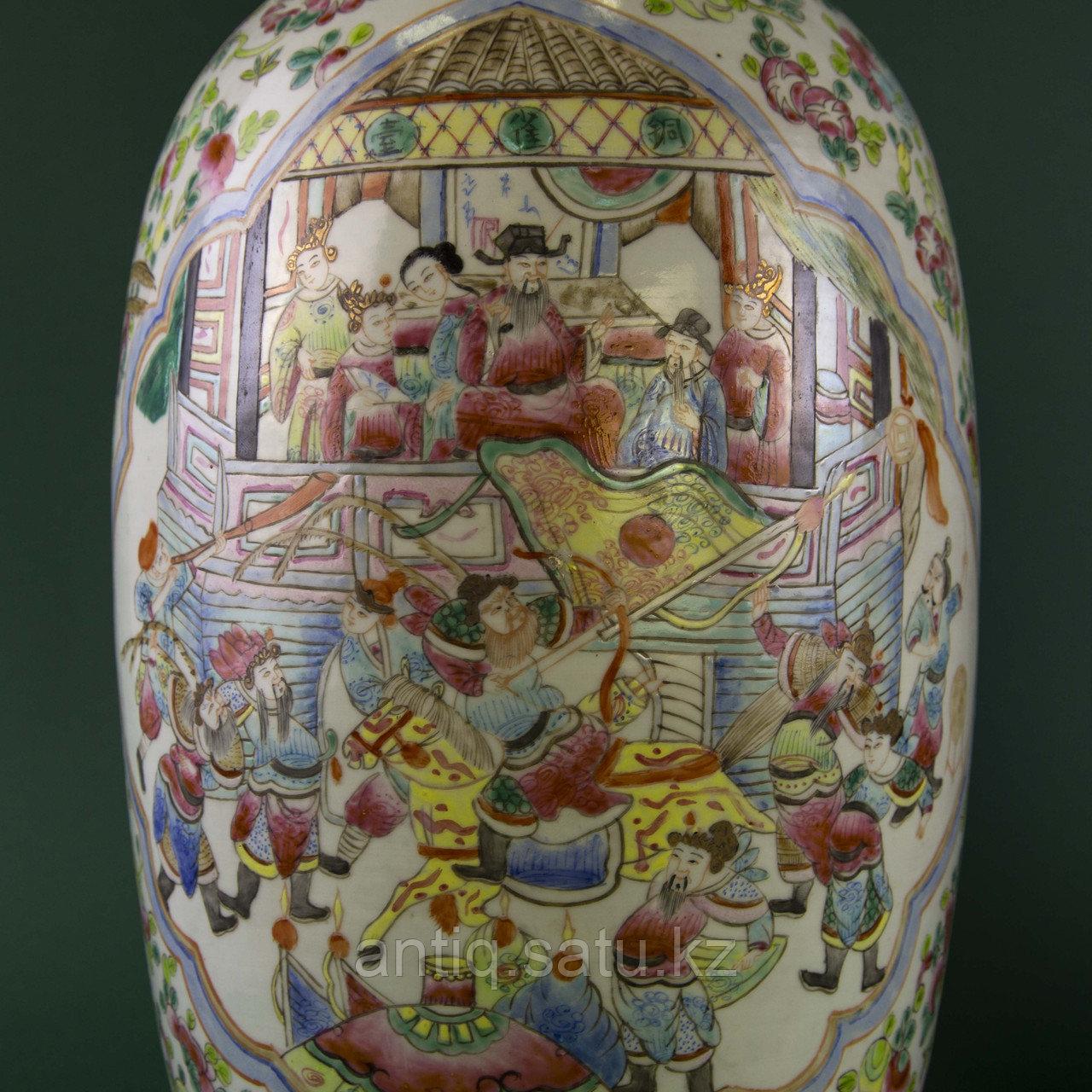 Парадные вазы. Китай. Начало ХХ века - фото 6